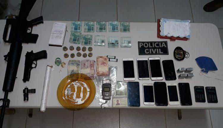 CASAL É PRESO PELA POLÍCIA CIVIL POR TRÁFICO DE DROGAS EM SÃO LUÍS