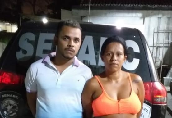 POLÍCIA CIVIL – CASAL É DETIDO POR TRÁFICO DE DROGAS NO BAIRRO DA DIVINÉIA