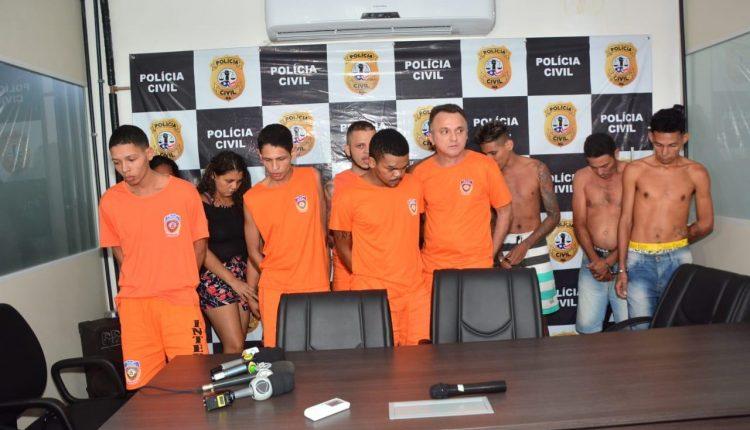 POLICIA CIVIL CUMPRE MANDADOS DE PRISÃO TEMPORÁRIA CONTRA MEMBROS DE FACÇÃO CRIMINOSA NA CAPITAL MARANHENSE