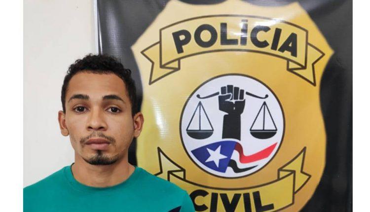 ACUSADO É PRESO PELA POLÍCIA CIVIL DA CIDADE DE CAXIAS POR ENVOLVIMENTO EM VÁRIOS CRIMES DIVERSOS