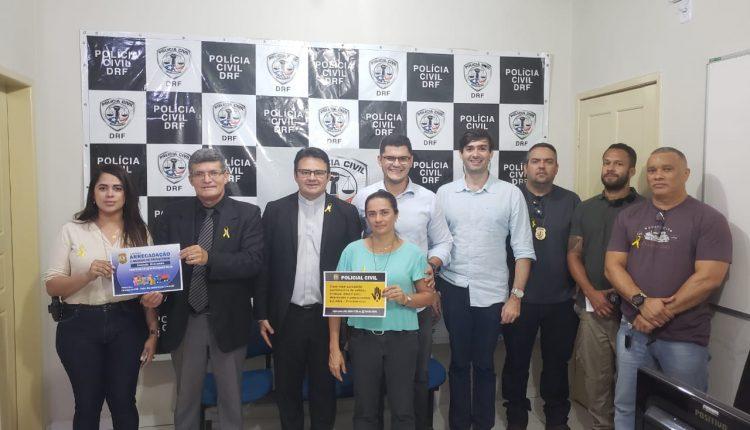 Polícia Civil realiza campanha de prevenção ao suicídio
