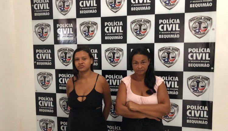 EM BEQUIMÃO, DUAS MULHERES SÃO DETIDAS PELA POLÍCIA CIVIL POR TRÁFICO DE DROGAS