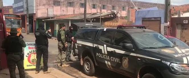 POLÍCIA CIVIL E MILITAR REALIZA A PRIMEIRA FASE DA OPERAÇÃO CIFRA NEGRA, ONDE FORAM PRESAS 15 PESSOAS, DENTRE ELES, 04 POLICIAIS MILITARES