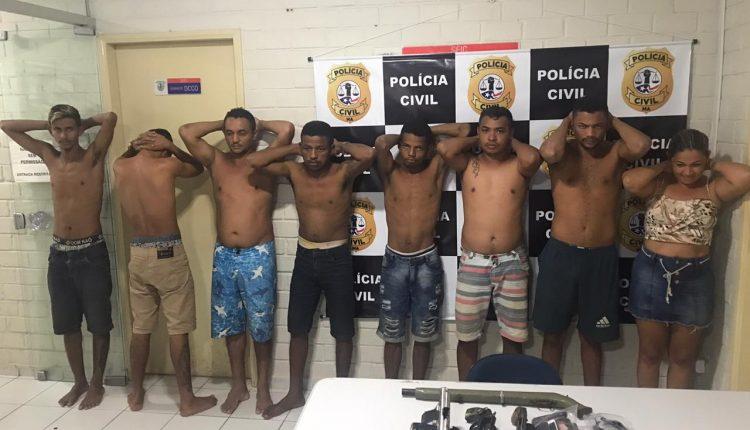 OPERAÇÃO ANTISSEQUESTRO ENTRE AS POLÍCIAS CIVIL E MILITAR PRENDEM 08 PESSOAS ENTRE BACABAL E POÇÃO DE PEDRAS-MA
