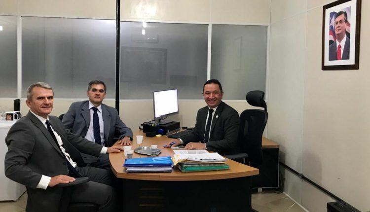 POLÍCIA CIVIL REALIZA AUDIENCIA PARA TRATAR DE COOPERAÇÃO INTERNACIONAL