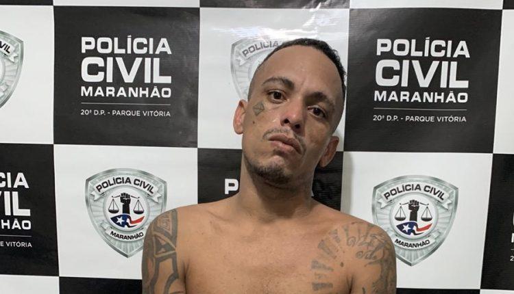A POLICIA CIVIL CUMPRE MANDADO DE PRISÃO PREVENTIVA POR ROUBO QUALIFICADO NO PARQUE VITÓRIA