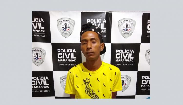 POLÍCIA CIVIL PRENDE HOMICIDA NO BAIRRO COROADINHO