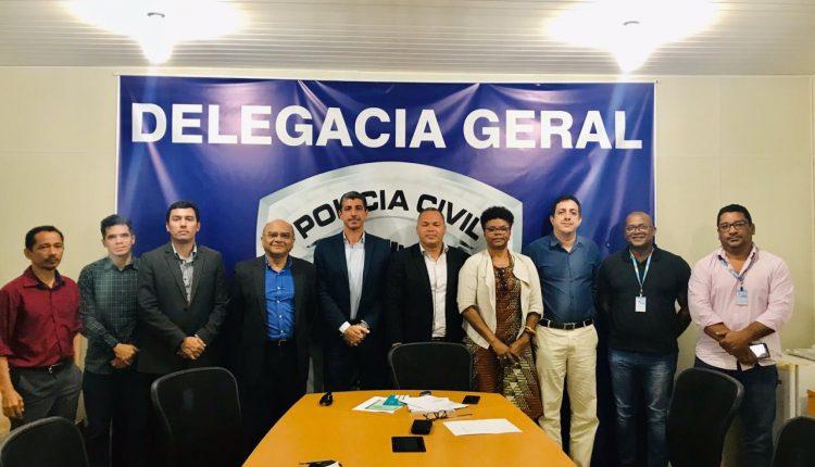 Polícia Civil do Maranhão, Sedhipop e Secretaria de Igualdade Racial reúnem-se para tratar de conflitos agrários no interior do estado.
