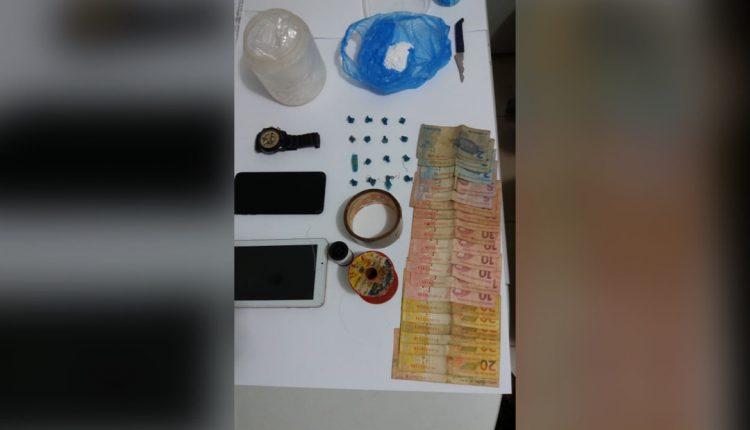 POLÍCIA CIVIL PRENDE EM FLAGRANTE UM CASAL DE TRAFICANTES EM NINA RODRIGUES