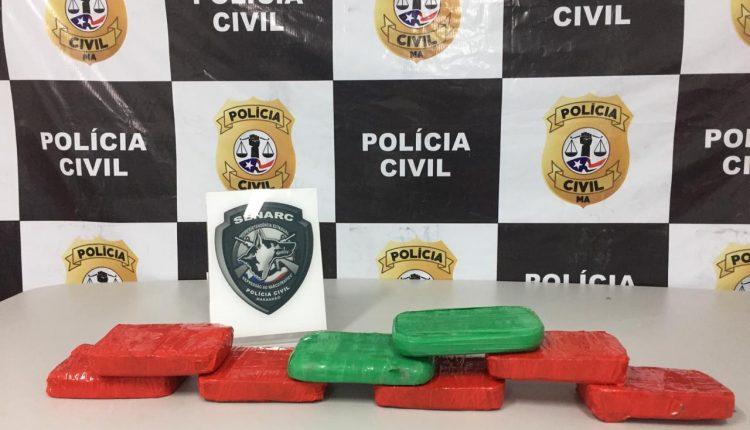 POLÍCIA CIVIL REALIZA OPERAÇÃO DE REPRESSÃO AO TRÁFICO DE DROGAS NO INTERIOR DO ESTADO E PRENDE TRAFICANTES COM 08Kg DE CRACK