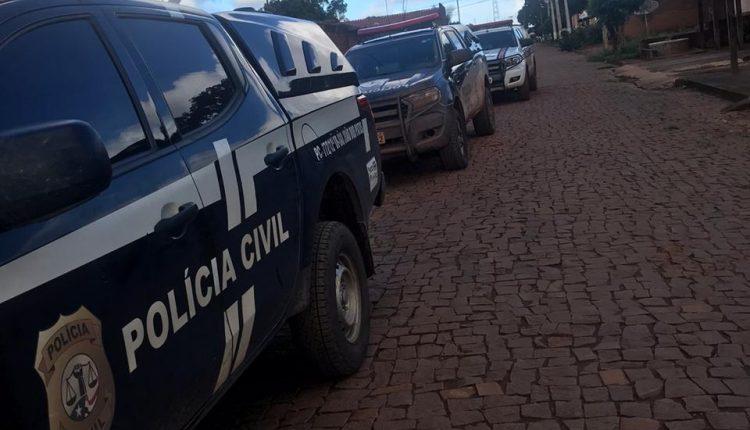 POLÍCIA CIVIL PRENDE EM FLAGRANTE HOMEM QUE AMEAÇOU DE MORTE A PRÓPRIA MÃE