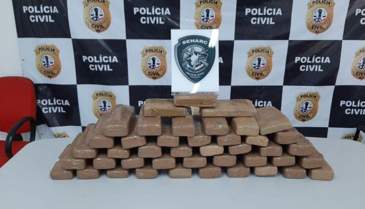 POLÍCIA CIVIL REALIZA MAIS UMA OPERAÇÃO DE REPRESSÃO AO TRÁFICO DE DROGAS NO INTERIOR DO ESTADO