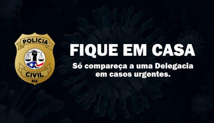 POLÍCIA CIVIL DO MARANHÃO DE FORMA PREVENTIVA CONTRA O COVID-19, DISPONIBILIZA A DELEGACIA ON-LINE