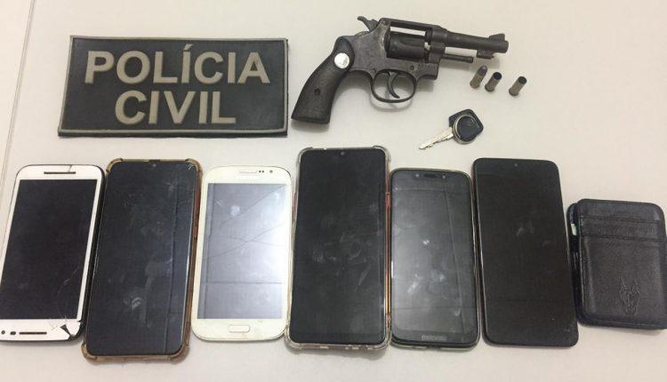 POLÍCIA CIVIL PRENDE ASSALTANTES DE ÔNIBUS EM DOM PEDRO