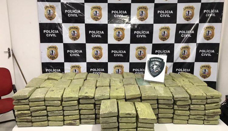 POLÍCIA CIVIL REALIZA OPERAÇÃO DE REPRESSÃO AO TRÁFICO DE DROGAS E APREENDE 250KG DE MACONHA NA CIDADE DE GOVERNADOR NEWTON BELLO