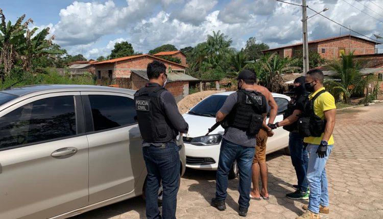 POLÍCIA CIVIL CUMPRE DOIS MANDADOS DE PRISÃO E PRENDE EM FLAGRANTE FORAGIDO DE PEDRINHAS