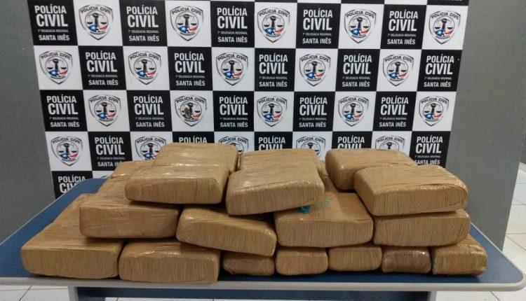 POLÍCIA CIVIL DO MARANHÃO PRENDE ACUSADO DE TRÁFICO DE DROGAS EM SANTA INÊS