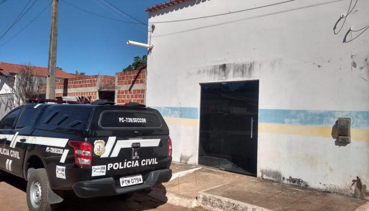 POLICIA CIVIL CUMPRE BUSCA NA PREFEITURA DE SÃO PEDRO DOS CRENTES