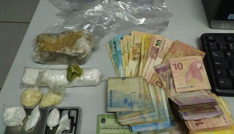 POLÍCIA CIVIL PRENDE SUSPEITO DE TRÁFICO EM COROATÁ