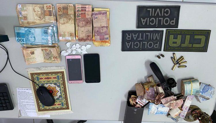 OPERAÇÃO DICTUM CUMPRE 9 MANDADOS DE BUSCA E PRENDE DUAS PESSOAS POR TRÁFICO DE DROGAS EM SANTO ANTONIO DOS LOPES/MA