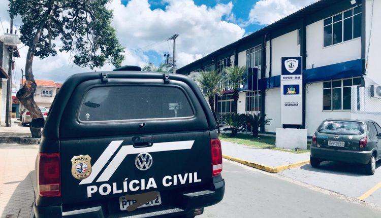 POLÍCIA CIVIL CUMPRE MANDADO DE PRISÃO POR ROUBO NO BAIRRO BARRETO