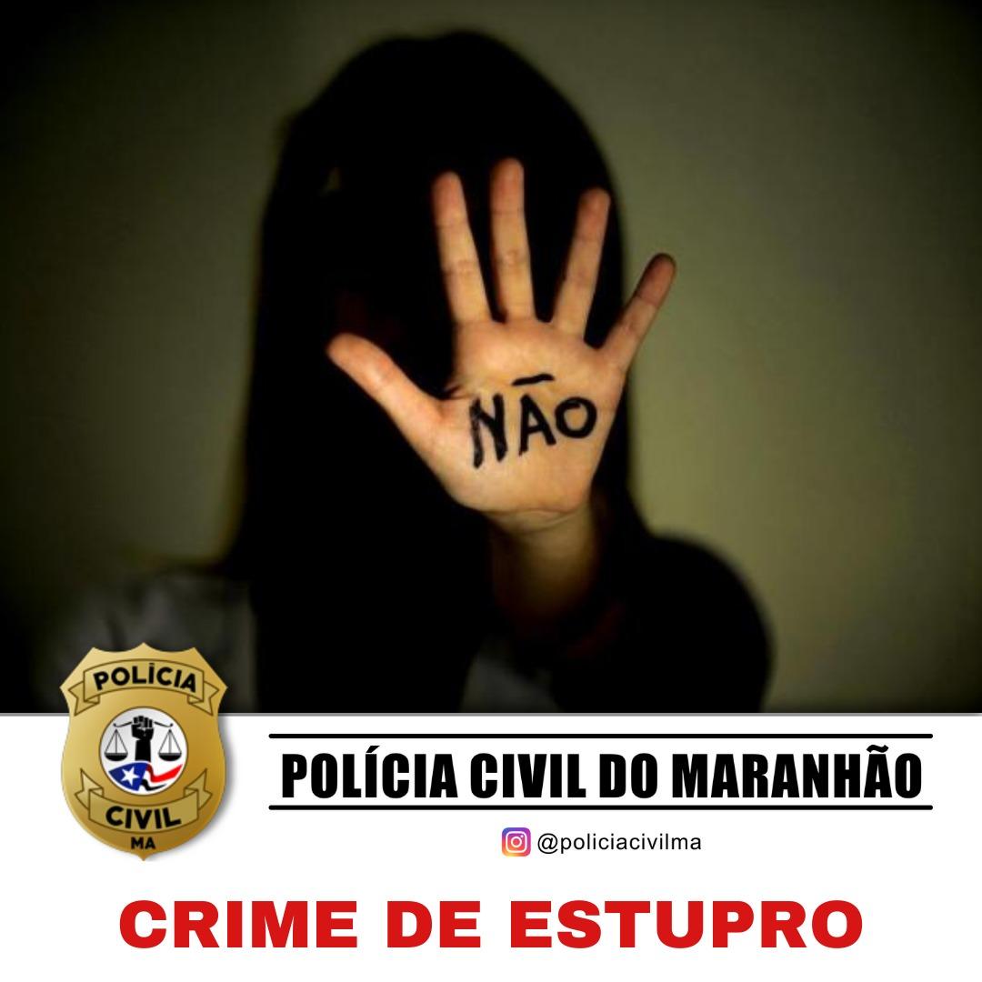 POLÍCIA CIVIL DO MARANHÃO PRENDE SUSPEITO DE ESTUPRO PRATICADO EM TUTOIA/MA