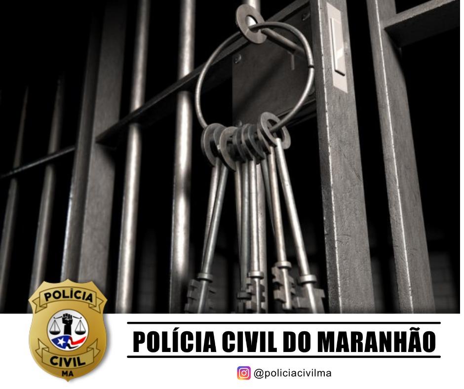 POLÍCIA CIVIL CUMPRE MANDADO POR SENTENÇA CONDENATÓRIA POR HOMICÍDIO EM TIMON