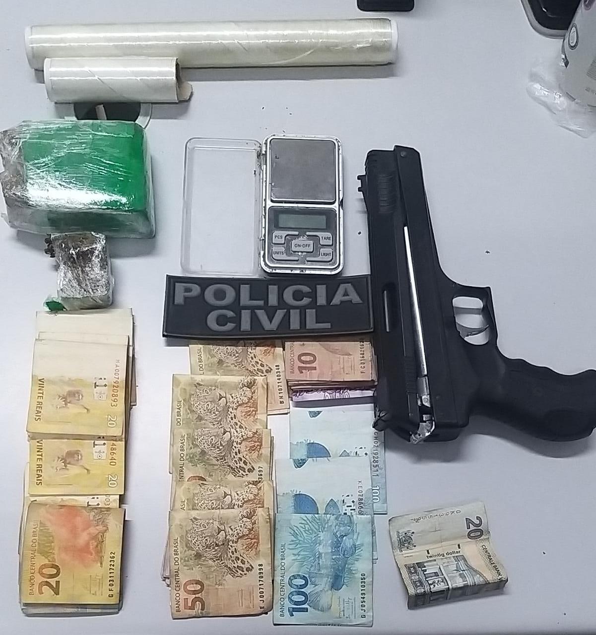 OPERAÇÃO DA POLÍCIA CIVIL DE COMBATE AO TRÁFICO DE DROGAS RESULTA EM TRÊS PESSOAS PRESAS EM CHAPADINHA