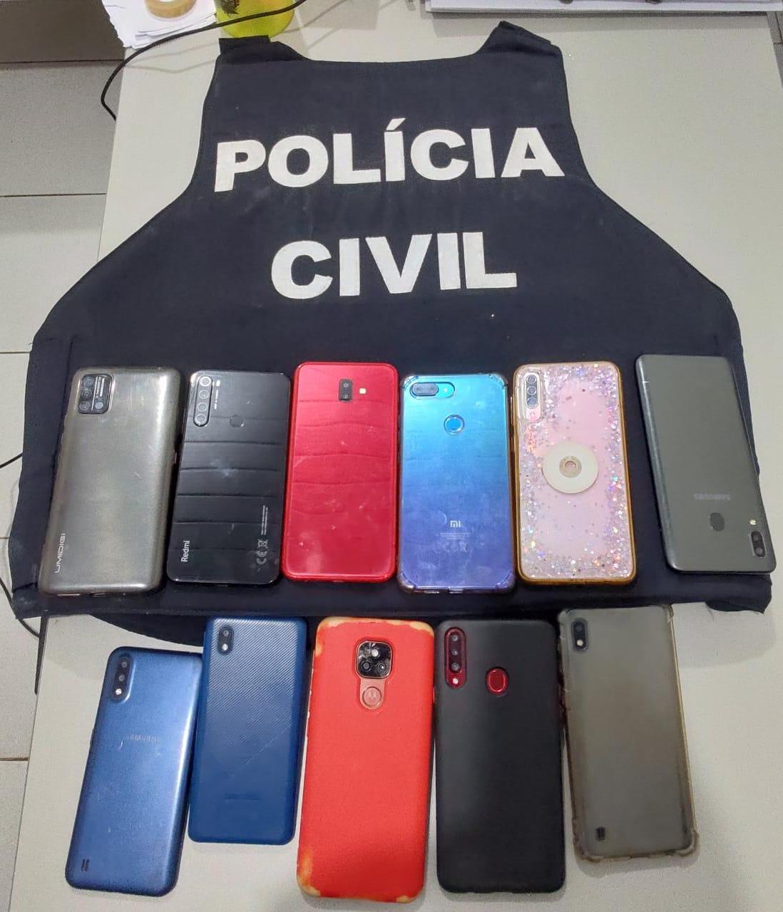POLÍCIA CIVIL AUTUA 11 PESSOAS PELO CRIME DE RECEPTAÇÃO DE CELULAR ROUBADOS EM CODÓ