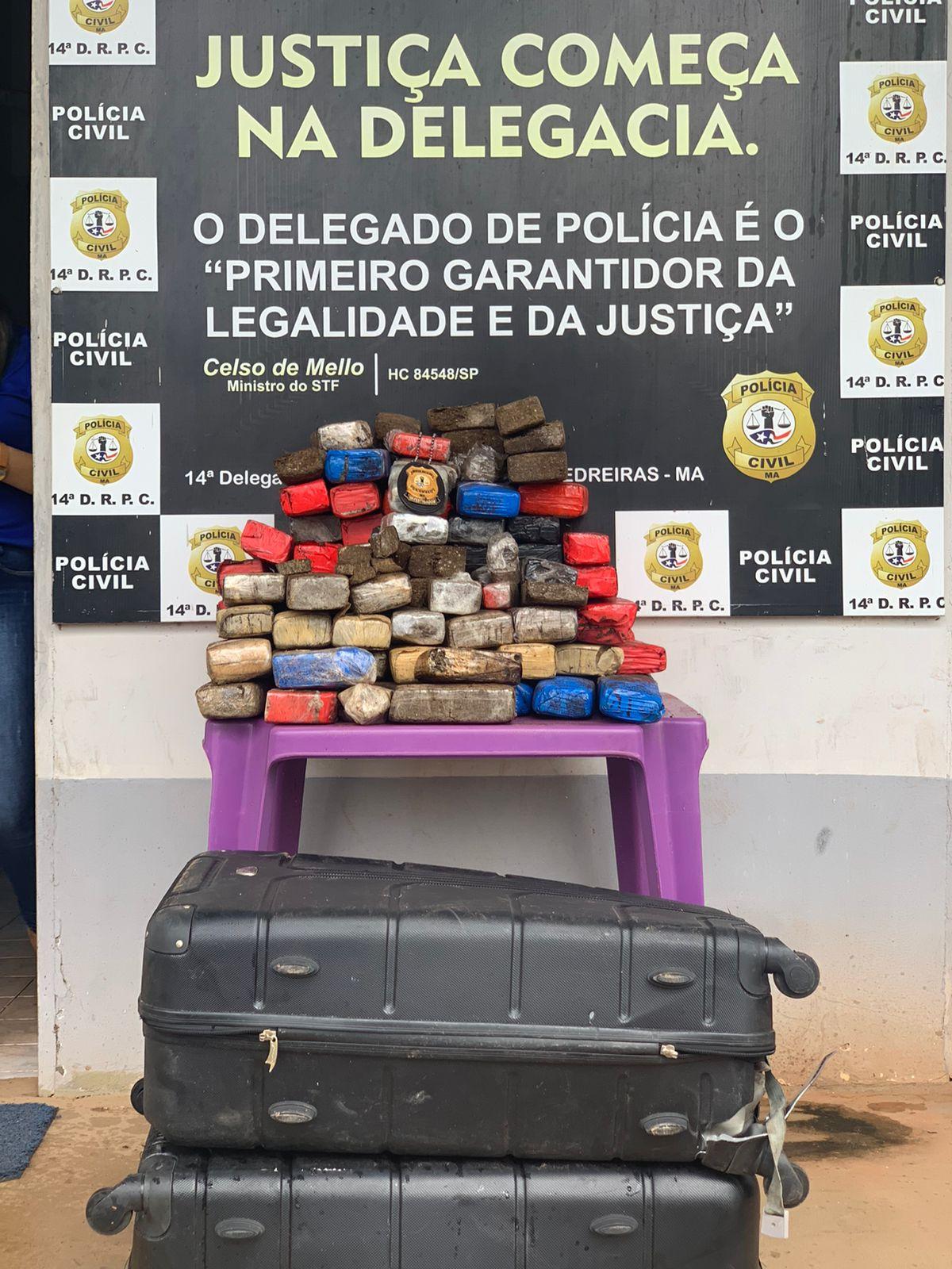 CERCA DE 200 MIL REAIS EM MACONHA SÃO APREENDIDOS PELA POLÍCIA CIVIL EM TRIZIDELA DO VALE
